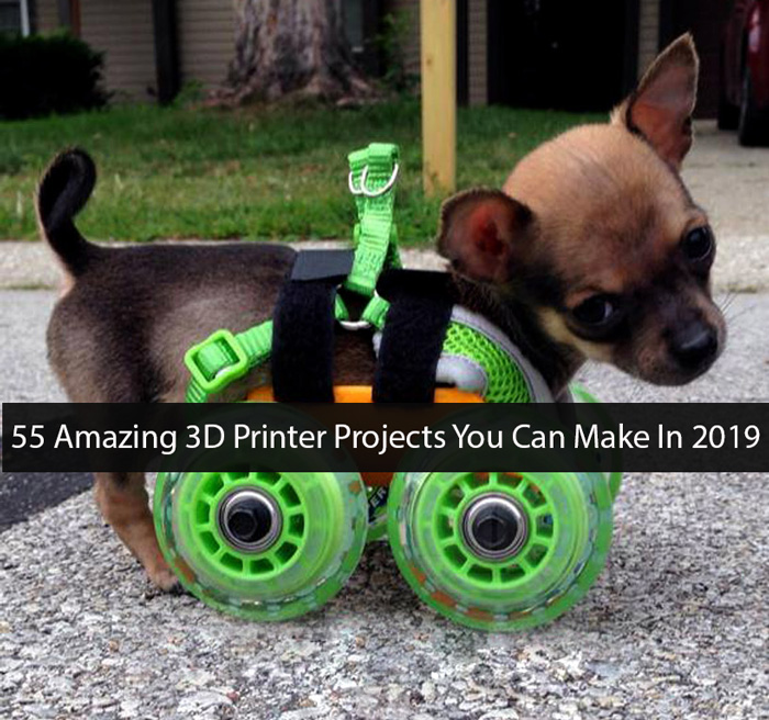55 Useful, Cool Things To 3D Print Ideas (Sept 2020