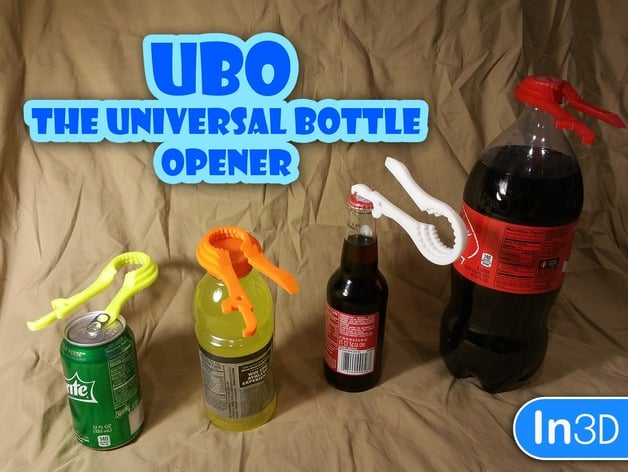 Bottle Opener 3d printing service marketplace cool things to 3D print