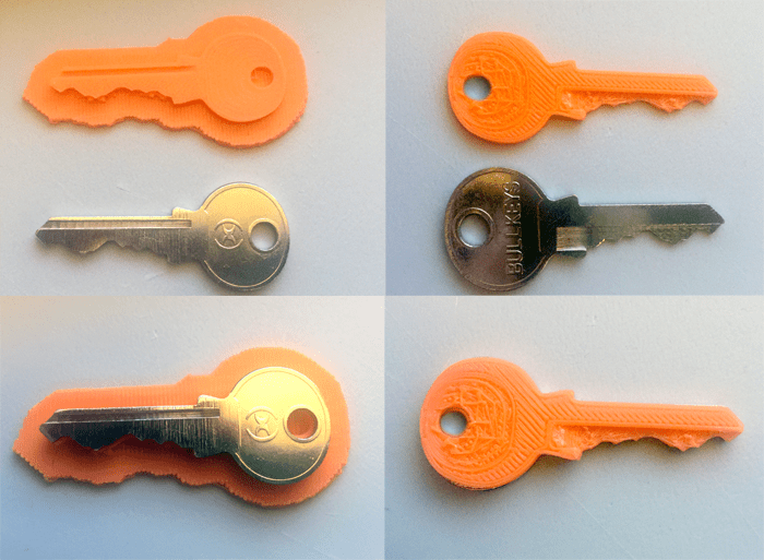 Spare Key 3d printing service marketplace cool things to 3D print