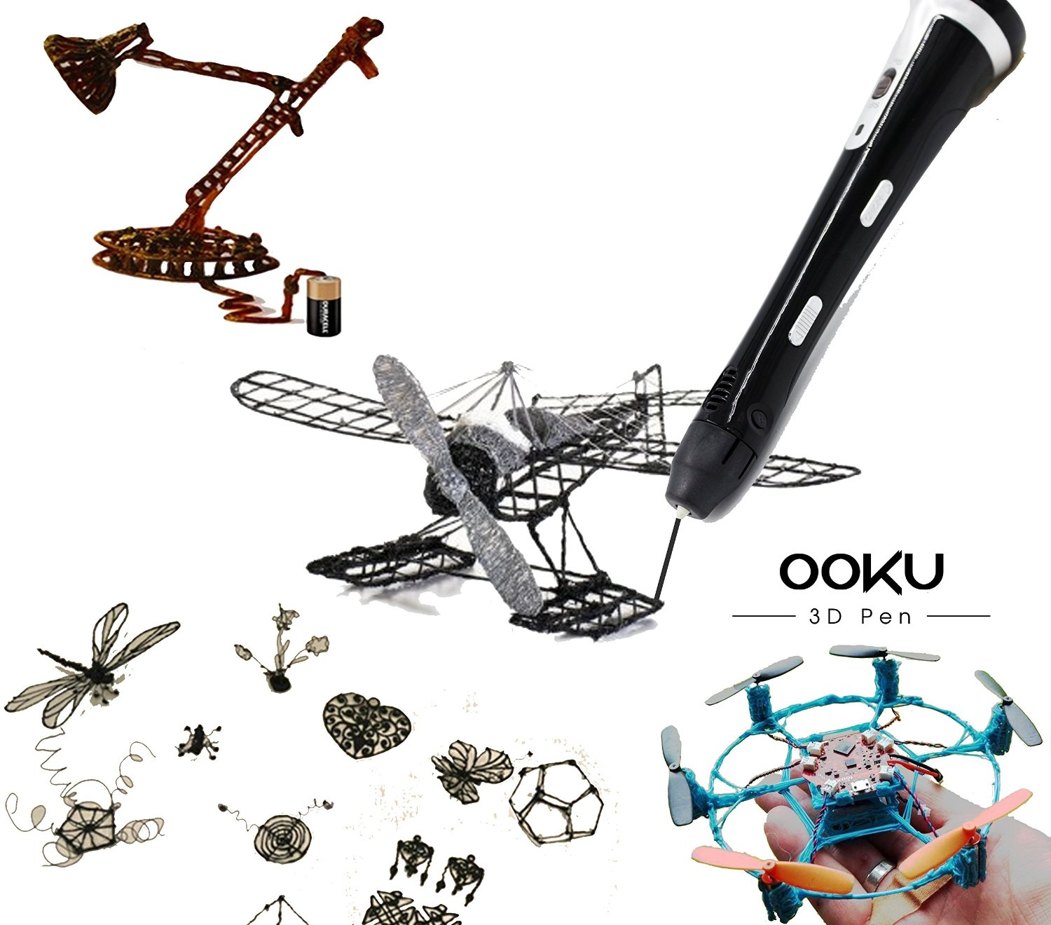 OOKU® Creative 3D Printing Pen Kit Review