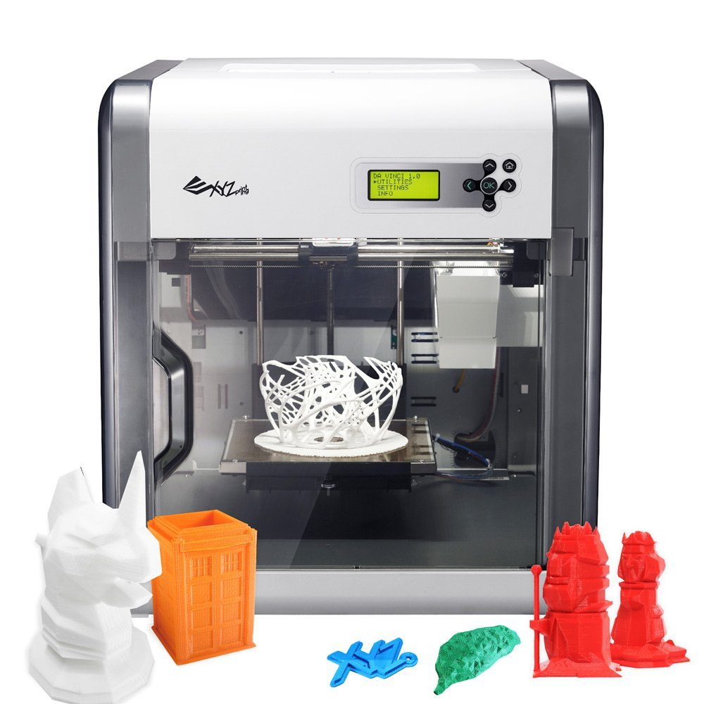 XYZPrinting Da Vinci 1.0 3D Printer Review