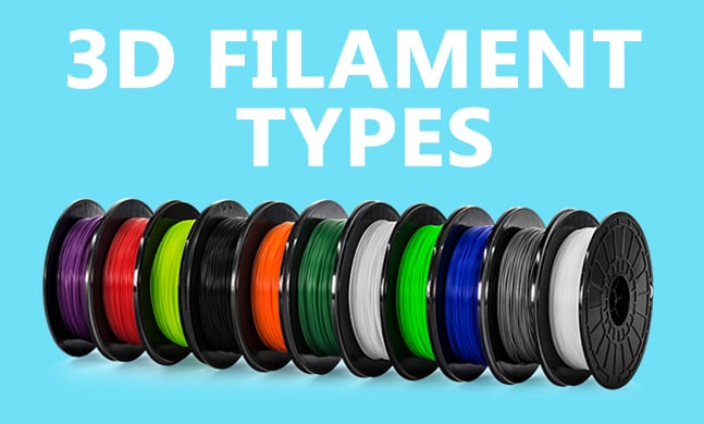 17 Type of 3D Printer Filament | Buyer's Guide & Review (Aug  2019)
