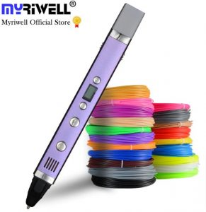 Myriwell 3rd Gen 3d stifte 3d stift 3d pens Information pens plastic pens sale best 3d pen 3d pens best 3d 3doodler filament create children available price