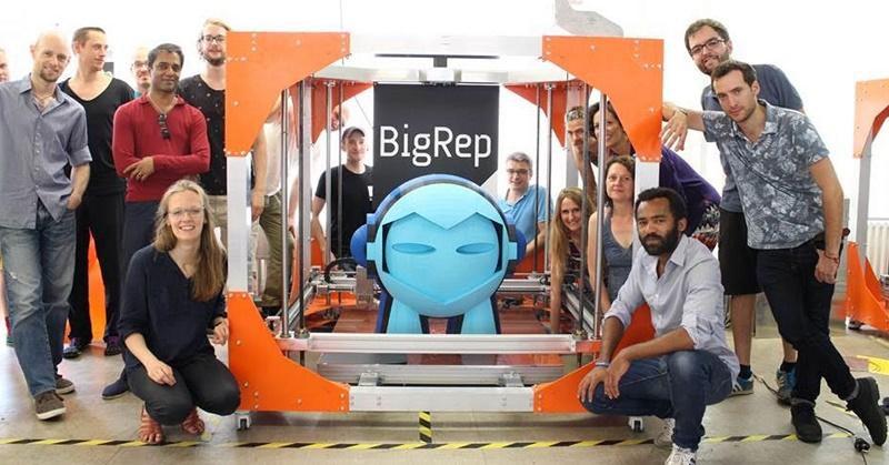 bigrep 3d printers bigrep studio modix big steele uses bigrep