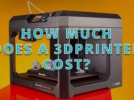 3d printer cost