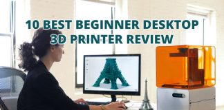 10 Best Beginner Desktop 3D Printer Review