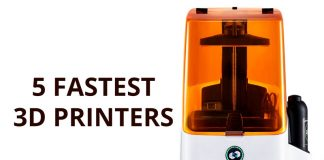 5 Fastest 3D Printer 2018