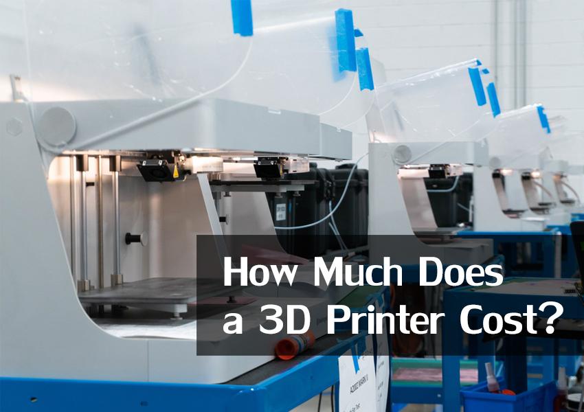 3d printer plastic cost