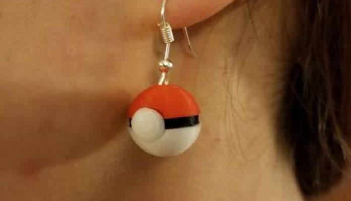 Pokeball Inspired Earrings