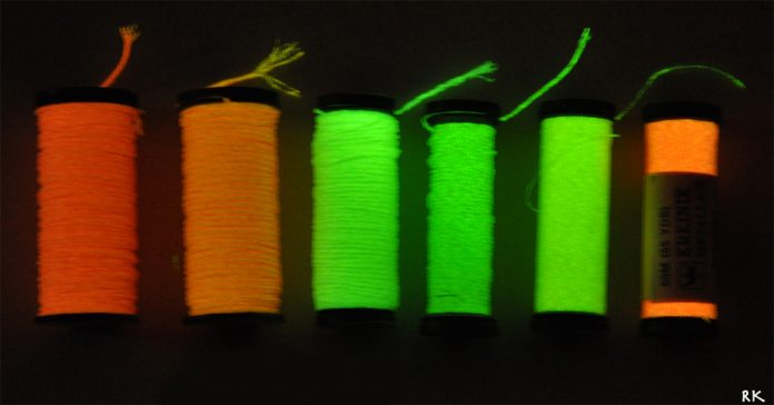 Printing with Glow in the Dark Filaments