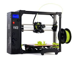 Lulzbot taz professional 3d printer printing time cost calculator hobbyist printers