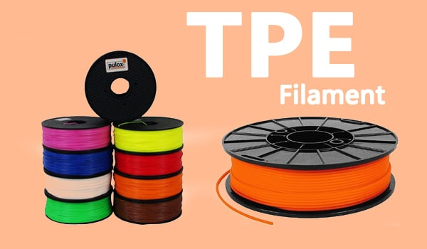 flexible filaments like tpe thermoplastic elastomer thermoplastic polyurethane tpe thermoplastic elastomer